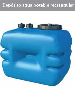 Nuevos depositos de agua en for Depositos de plastico