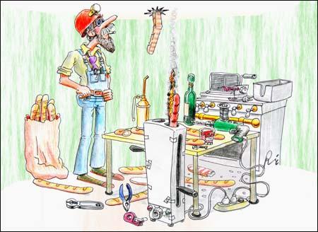 Como ahorrar energ a algunos consejos eficiencia for Cocina dibujo